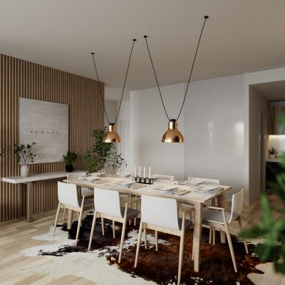 3 Bedroom Residence Dining