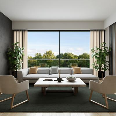 Interiors: 3 Bedroom Residences